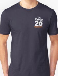 Under 20 Workout White/Orange Logo T-Shirt