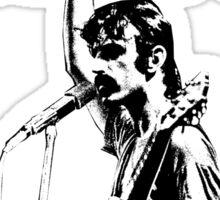 Frank Zappa givin' the finger Sticker