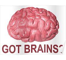 Got Brains? Poster