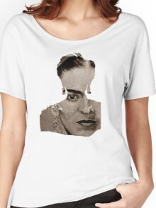 FRIDA KAHLO - sepia Women's Relaxed Fit T-Shirt