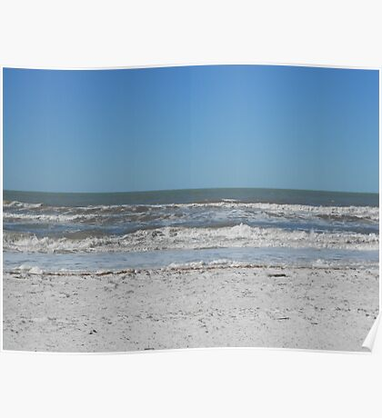 The Gulf of Mexico-Florida Poster
