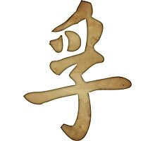 Truth Kanji Photographic Print