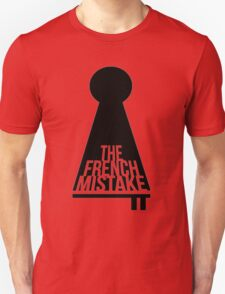 Supernatural Inspired Design - Key and Lock: The French Mistake (Minimalist Geek Chic) T-Shirt