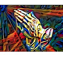 Praying for Peace Photographic Print