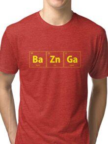 BaZnGa Bazinga Periodic Table Tri-blend T-Shirt