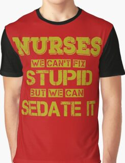 Nurses Graphic T-Shirt