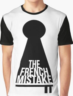 Supernatural Inspired Design - Key and Lock: The French Mistake (Minimalist Geek Chic) Graphic T-Shirt