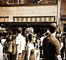 Original Starbucks by Ariana Wiss
