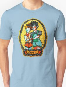LOVE Floral Unisex T-Shirt