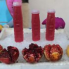 pomegranate juice Bangkok style by Ren Provo