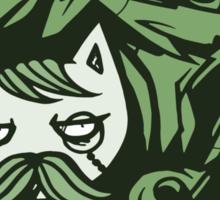 Tally-Ho! Green Sticker