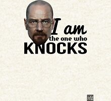 The one who knocks Zipped Hoodie