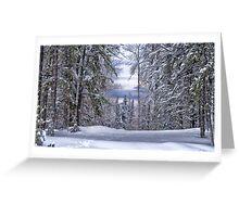 Winagami Lake Provincial Park Greeting Card