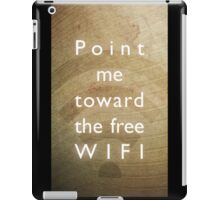Point me toward the free WIFI iPad Case/Skin