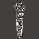 MICROPHONE OF ART by ianshawdesign