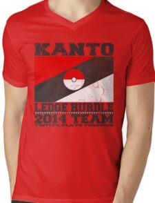 Kanto Ledge Hurdling Team Mens V-Neck T-Shirt