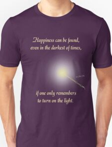 Harry Potter Happiness Quote Unisex T-Shirt