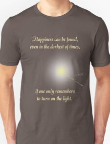 Harry Potter Happiness Quote T-Shirt