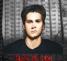 This Isn't You Stiles Phone Case by voidstiles