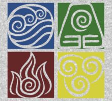 Four Elements - Simple by Eudaemons