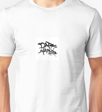 dark matter graffiti logo Unisex T-Shirt