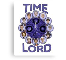 TIme Lord (blue version) Canvas Print