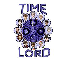 TIme Lord (blue version) Photographic Print