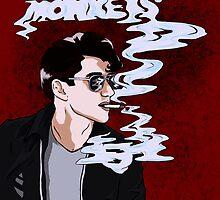 Arctic Monkeys Smoke by VieWoodman
