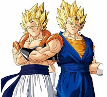 Gogeta and Vegeto by andysosa