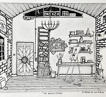 The Artists Studio. by WaywardStreet