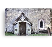 Domesday Church Canvas Print