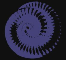 Nine Inch Nails The Downward Spiral Coil Purple by Degen072183
