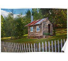 Farm Shed, Franklin, Tasmania Poster