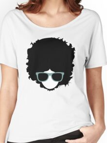 Hipster (wearing glasses) Women's Relaxed Fit T-Shirt