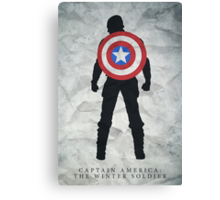 Freedom - Captian America: The Winter Soldier Poster Canvas Print