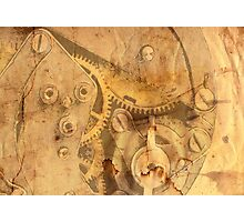 clockwork mechanism Photographic Print