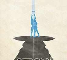 Tron: Legacy - Poster by edwardjmoran