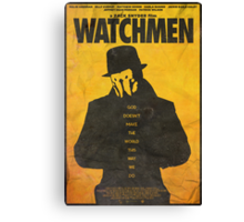 You Don't Seem to Understand - Watchmen Poster Canvas Print