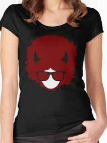 Hipster devil Women's Fitted Scoop T-Shirt