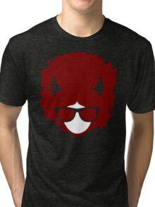 Hipster devil Tri-blend T-Shirt