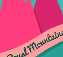 The Royal Mountaineers Sticker