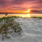 Bribie Island Sundown - Qld Australia by Beth  Wode