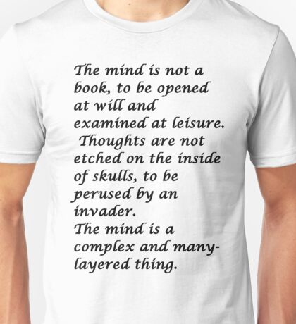 Snape-The mind Unisex T-Shirt