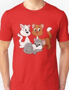 Cartoon kittens Unisex T-Shirt