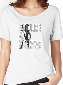 Endure And Survive Type 2 Women's Relaxed Fit T-Shirt