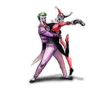 Joker & Quinn in bad love Photographic Print
