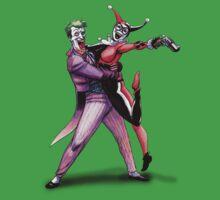 Joker & Quinn in bad love by sergiocpd