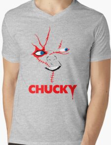Chucky Mens V-Neck T-Shirt