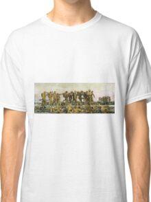 Vintage John Singer Sargent World War I Gassed Classic T-Shirt