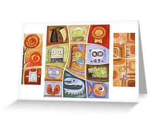 Puzzle Painting All of Us Greeting Card